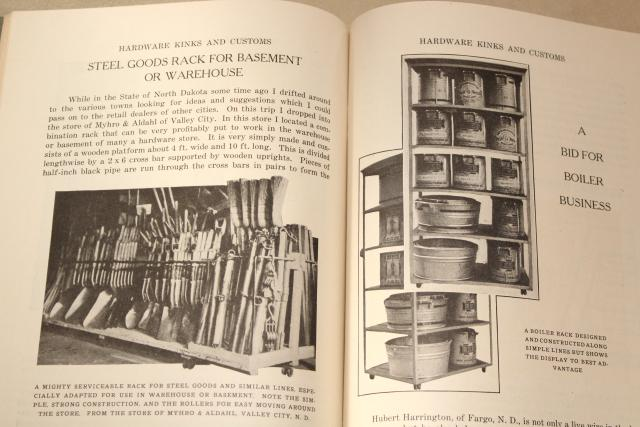 antique carpenter tool advertising booklets, vintage ephemera illustrations