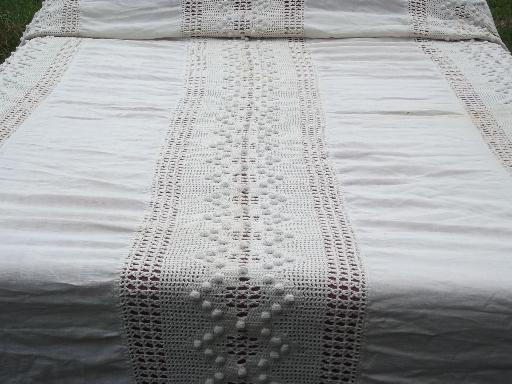 Has anyone here ever crocheted a queen size bed spread? - Democratic ...