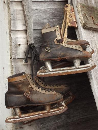 antique ice skates bf04c11ff