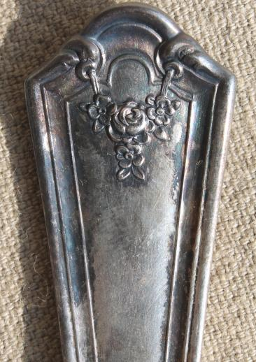 Antique Silverware 1920s Vintage Silver Plate Flatware