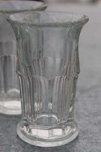 Antique Soda Fountain Glasses Tiny Old Coca Cola Glasses