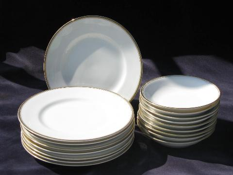 Antique Vintage Austria Porcelain Plates Amp Bowls For China