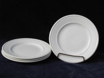 antique vintage Wedgwood Edme creamware china dessert plates
