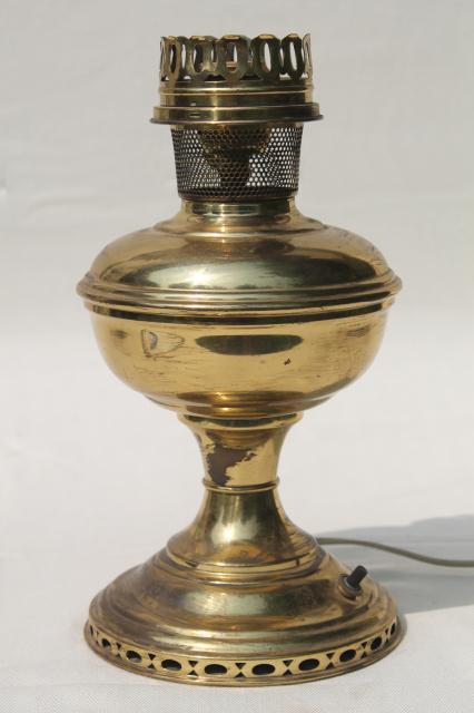 Antique Copper Table Lamp