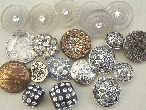 silver braclets with vintage buttons jpg 1080x810