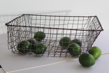 pair of small decorative flat wire baskets at 1stdibs.htm vintage storage baskets  antique egg baskets  industrial locker  vintage storage baskets  antique egg