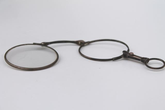 Vintage Silver Eyeglass Frames : antique vintage eyeglasses frames, sterling silver ...