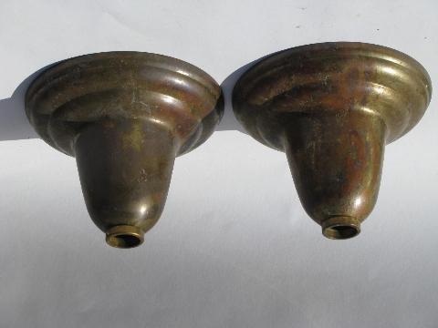 Antique Vintage Lighting Brass Lamp Replacement Parts