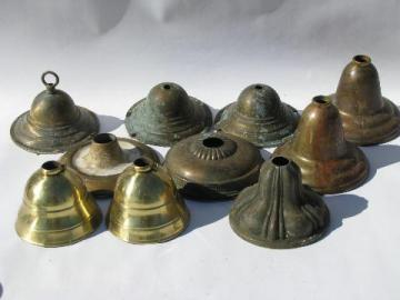 antique vintage lighting brass l& replacement parts ceiling light canopy lot & antique lamp parts sockets and prisms