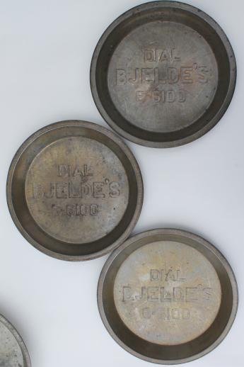 Antique Amp Vintage Pie Tins Pans From Jane Parker Pies