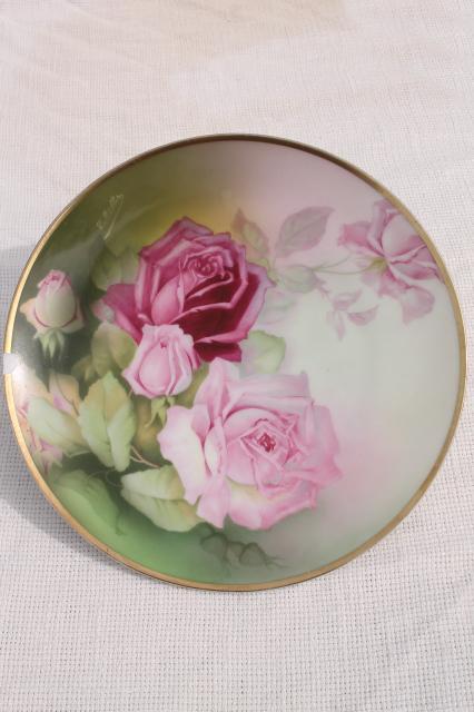 Antique Vintage Plate Collection Mismatched China Plates