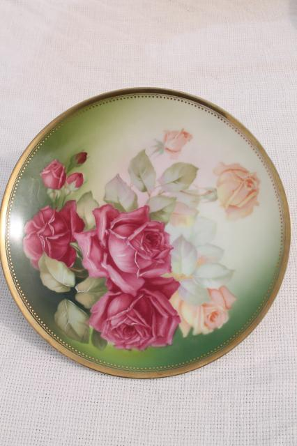 Antique Vintage Plate Collection Mismatched China Plates