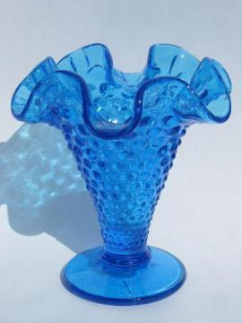 Hobnail And Fenton Glass