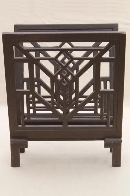Arts Amp Crafts Vintage Frank Lloyd Wright Design Metal