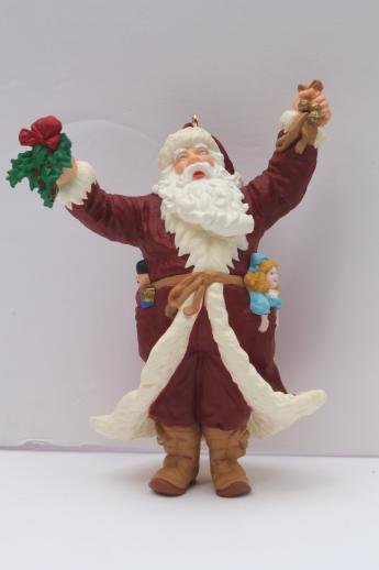 assorted vintage Hallmark Christmas ornaments, collectible ...