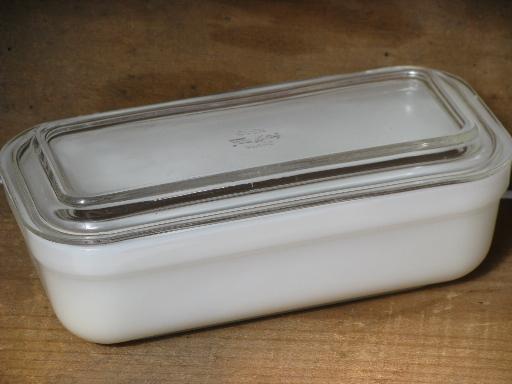assorted vintage refrigerator boxes milk white glass fridge box lot