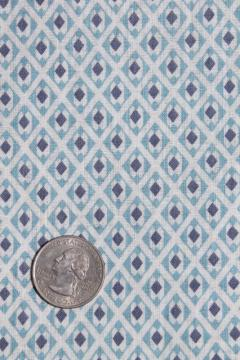 authentic antique vintage fabric, primitive cotton print for shirting, aprons etc.
