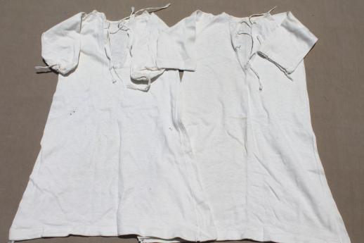 4b7de1b0f159c baby boomer vintage baby clothes lot, early 50s layette pieces for babies &  infants