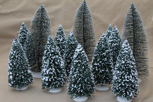 Flocked Christmas Trees On Sale