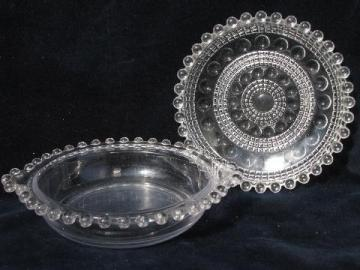 Antique Amp Vintage Pressed Pattern Glass Dishes Amp Serving