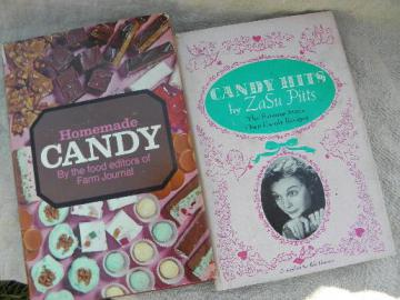 candy recipes vintage candymaking cookbooks lot, old fashioned candies
