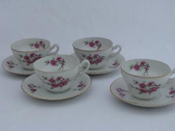 Vintage Tea Pots Tea Cups And Saucers