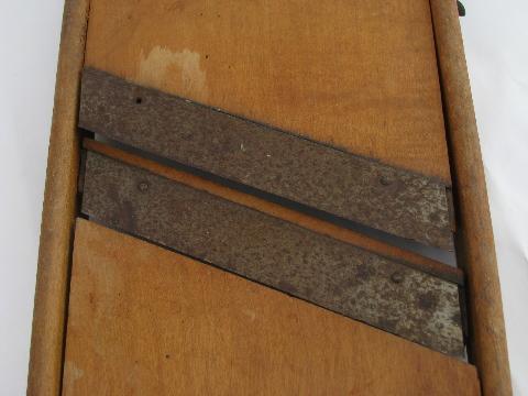 church kitchen lot vintage slaw boards or mandolin french
