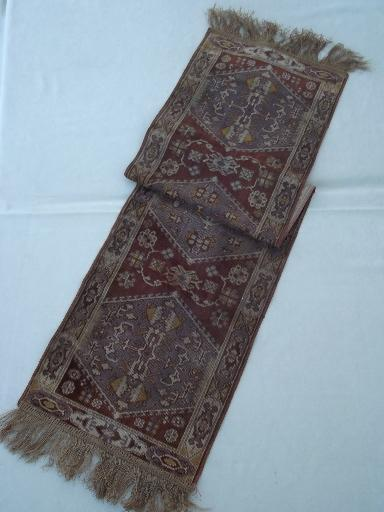 Collection Of Arts Amp Crafts Vintage Table Runners Brocade