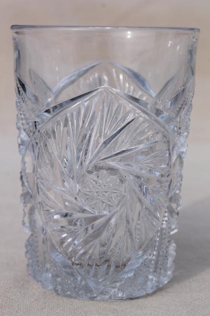 Vintage Pattern Glass 56