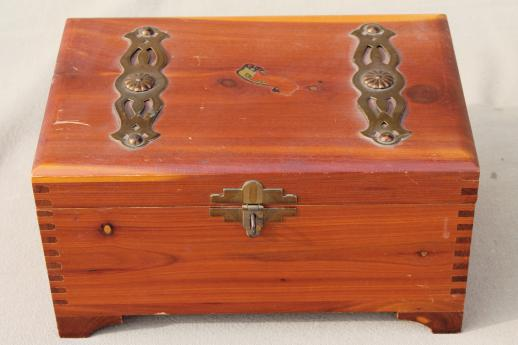 collection of vintage wooden boxes wood jewelry box glove box old
