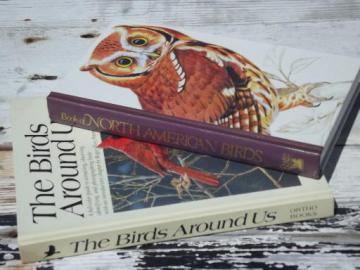 color photo bird watcher books, North American birds, Birds Around US
