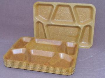 confetti melmac cafeteria trays