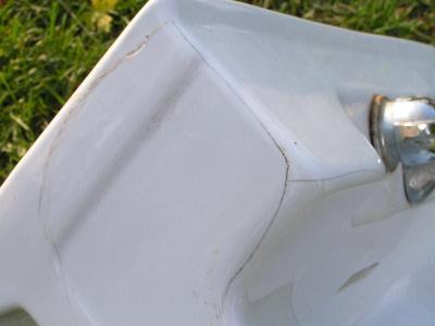 Vintage Crane Laundry Sink : deco Crane porcelain architectural sink