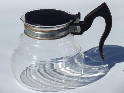 Vacuum Coffee Maker Glass Filter : deco vintage Cory vacuum pot coffee maker, complete w/ glass filter rod