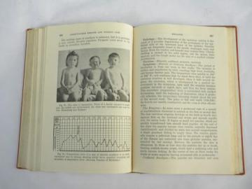diseases for nurses, WWII vintage medical and nursing text book