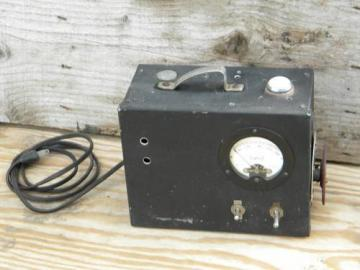 early electric power supply transformer, steampunk vintage