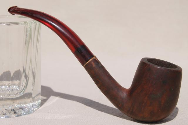 estate lot old tobacco smoking pipes for parts / restoration