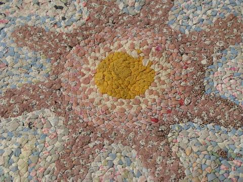 Braided Cotton Fabric Rag Rug Floor Mat