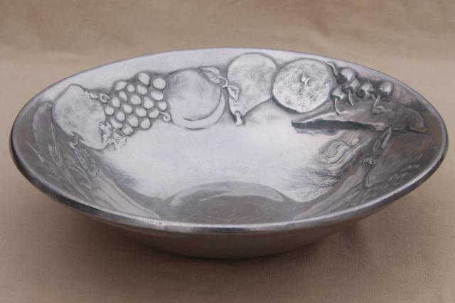 Fruit Pattern Rwp Wilton Armetale Serving Salad Bowl