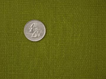 green olive linen weave fabric, 60s vintage cotton suiting weight material