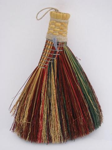 Handmade Berea Fireplace Hearth Broom Short Whisk Brush