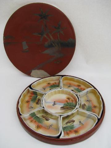 vintage relish tray