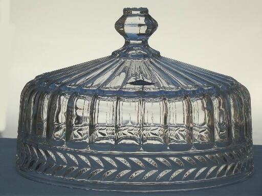 Heavy Crystal Cake Stand Shannon Label Glass Plate W