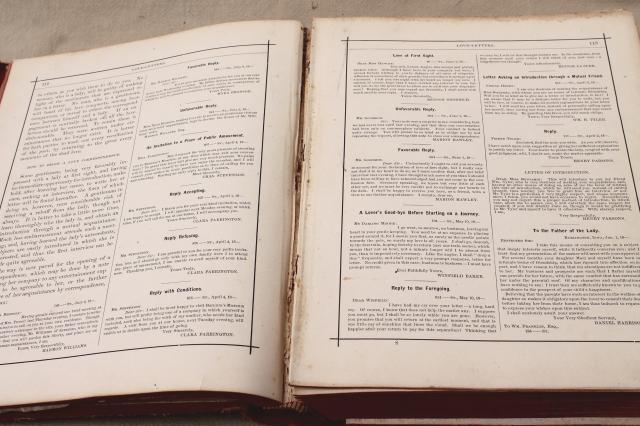 huge antique book beautiful 1880s manual of