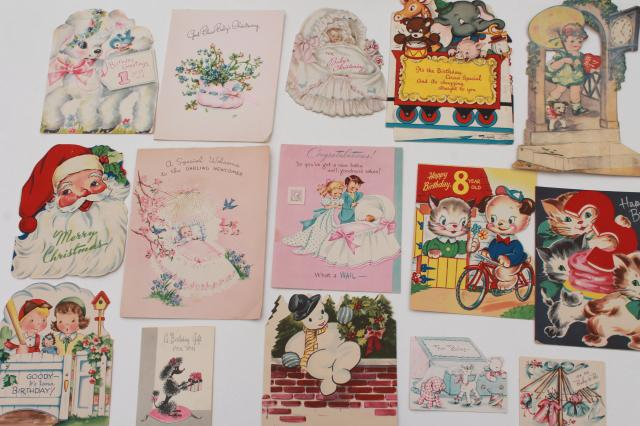 Huge lot 150 vintage greeting cards holiday birthday cards huge lot 150 vintage greeting cards holiday birthday cards christmas cards valentines m4hsunfo