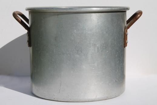 Huge Old Wear Ever Aluminum Stockpot Commercial Kitchen