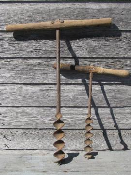 Old Antique Farm Tools
