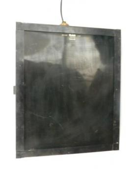 industrial vintage Kodak model C photography safelight w/amber filter