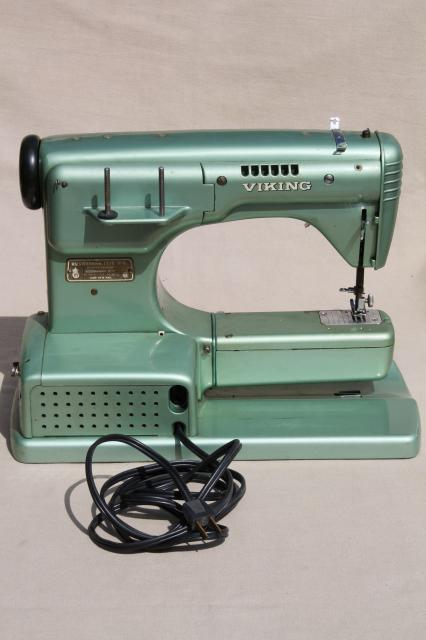 industrial vintage viking husquvarna 21e sewing machine