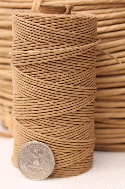 Basket Making Jute : Paper twist baskets bing images
